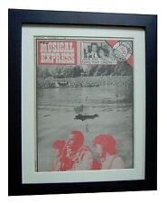 ERIC CLAPTON+RARE CLASSIC+ORIGINAL NME 1976+POSTER+FRAMED+EXPRESS GLOBAL SHIP