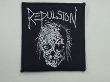 REPULSION DEATH METAL WOVEN PATCH