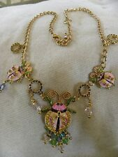 "Lunch at the Ritz 2Go ""LEADING LADY"" Lady Bug Necklace   18""-20"" MSRP 139.00"