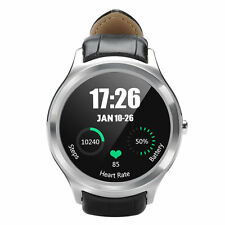 Waterproof Bluetooth Silver Smart Watch Android IOS Phone Wi-Fi Google Play GPS