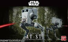 BANDAI STAR WARS AT-ST ALL TERRAIN SCOUT TRANSPORT WALKER 1/48 SCALE MODEL KIT