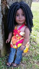 OOAK Custom American Girl Doll Wig in The Michonne