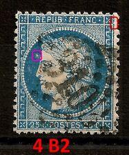4 B2 + NUAGE DEVANT LE FRONT,  PLANCHAGE CERES 25C TYPE I. T544