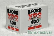 3 rolls ILFORD XP2 Super 400 35mm 36exp B&W Film C41 Process