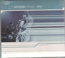 SIMPLE MINDS CRY  CD SINGLE SIGILLATO!!!