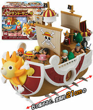 Rare! Bandai One Piece Memorial Log Ship Model Thousand Sunny Completed Set 6pcs