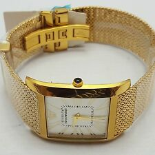 Emporio Armani AR2016 Gents Luxury Gold-Tone Mesh Mens Watch