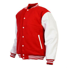 Unisex Varsity Style Fashion Letterman University College Baseball Jacket New
