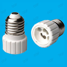 Edison Screw ES E27 To GU10 Light Bulb Adaptor Lamp Socket Converter Holder