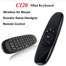2.4GHz C120 Rechargeable Keyboard T10 Air Mouse For KODI Android TV Box MXQ MXV