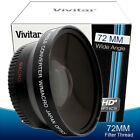 72mm Wide Angle Macro Fisheye Lens for Nikon D7200 D7100 D5300 D5200 D3300 D3200