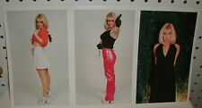CINDY JOHNS - BLONDE AVENGER - PHOTO PACK OF 8 5X8 COLOR PHOTOS
