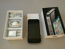 Apple iPhone 4 8GB Black Unlockd In Box bundled w accessories & Kate Spade Cover