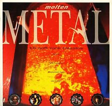 MOLTEN METAL queen/van halen/robert plant/bruce hornsby/marillion LP PS EX/EX