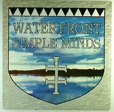"""12"""" Maxi - Simple Minds - Waterfront - M737 - washed & cleaned"""