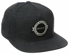 RVCA - DEFINED Mens Snapback Hat (NEW) Five 5 Panel Cap SMOKE Ruca FREE SHIPPING