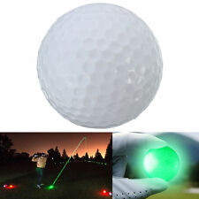 Light-up Color Flashing Glowing LED Electronic Golf Ball For Night Golfing EW