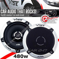 Vibe Slick 4  V5, 4'' 300w 2 way Coaxial Car Van Dash Door Speakers Pair