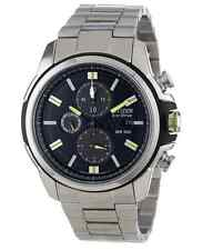 NWT Men's Citizen CA0428-56E Eco-Drive Stainless Steel Chronograph Watch