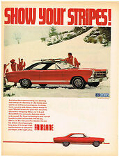 Vintage 1968 Magazine Ad Ford Fairlane High Performance In Beautiful Package