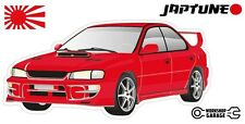 Subaru WRX Impreza  V1 - Red with Factory Silver Rims - JDM - JapTune Brand