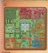 Zelda World Map Prize Microfiber Blanket Japan Import NEW