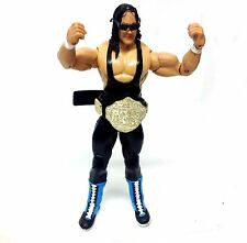WWE WWF TNA WRESTLING Classic Supestars BRET HART figure Belt & Glasses RARE!