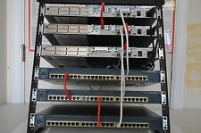 CISCO CCENT CCNA CCNP LAB KIT R&S VOICE 3x 2610XM, CME 4, 3x 2950 RACK INCLUDED