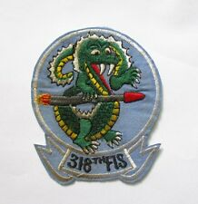 Patch - USAF US AIR FORCE 318TH FIS FIGHTER SQUADRON PATCH , USAF