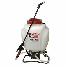 NEW CHAPIN 63985 20 VOLT BATTERY USA 4 GALLON BACKPACK GARDEN SPRAYER 6986640