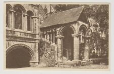 Kent postcard - Canterbury Cathedral - Normans Stair