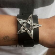 Genuine Alchemy Gothic Braccialetto-pentagration | Men's Fashion Cinturino da polso