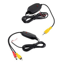 2.4G Wireless Transmitter Receiver for Car Reverse Rear View Camera DC 12V