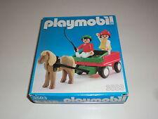 Playmobil Klicky 3583 Pony Pferdekutsche Kutsche 70er 80er Jahre OVP
