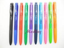 10 Colors set Uni-Ball Signo UMN-155 0.38mm Retractable RollerBall Pen