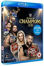 Official WWE - Clash of Champions 2016 Event Blu Ray