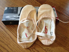 Capezio 2039 Pro Canvas Ballet Slippers, Pink, Size 4.5m, New