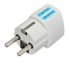 1pc New US UK AU To EU Travel Charger Power Adapter Converter Wall Plug Combo