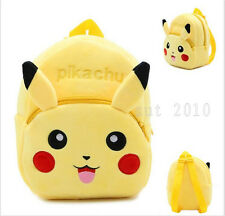 "Pokemon Pikachu Large School Backpack 9"" Book Bag with Plush Ear"