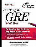 Cracking the GRE Math Test, 2nd Edition (Graduate Test Prep)-ExLibrary