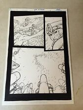THUNDERCATS #5 PG #3 original art, PRINCESS and LION-O UNDER ATTACK, 2004