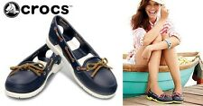 M&A Crocs Boat Shoes for Women Size 8 (fits size 9)