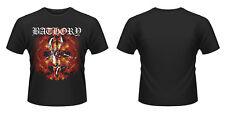 Bathory-Fire Goat T-shirt MEDIUM One sided 3 color screen printed
