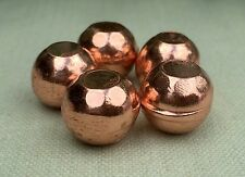 18 mm Copper Sphere Copper Mineral Specimen Mini Sphere Nugget Reiki Chakra. One