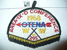 OA 1968 Area 9-d,IXD,Conference Patch,pp,295 Otena HOST,99,199,272,307, Texas,TX