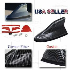 FOR JAP CARS ONLY! JDM PREMIUM FM/AM ROOF MOUNT SHARK FIN STYLE ANTENNA CARBON