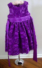 American Princess Dress Purple Soutache Rose Special Occasion Dress Sz. 5 ?