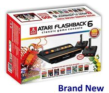 Brand New Atari Flashback 6 Classic Game Console & 100 Built-In Games