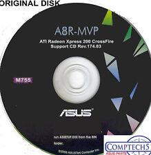 ASUS GENUINE VINTAGE ORIGINAL DISK FOR A8N32-SLI  Motherboard Disk M775