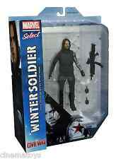 Marvel Select THE WINTER SOLDIER Captain America Civil War Action Figure 2016